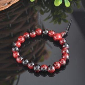 Jewelry - Natural Sandalwood Red Mala Prayer Beads Bracelet